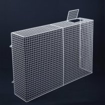 SH24 storage heater guard with support bar and lockable control flap radiator guard options
