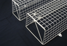 MS Guardio provides AIANO wire mesh light guards for fluorescent light fittings