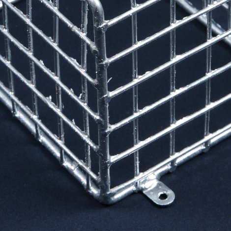 Aiano PIR/G small galvanised bulkhead guard – detailed view