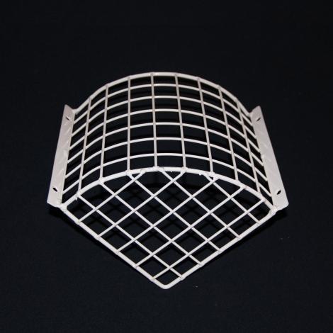 Aiano PIR/MD corner mounted sensor guard – bottom view