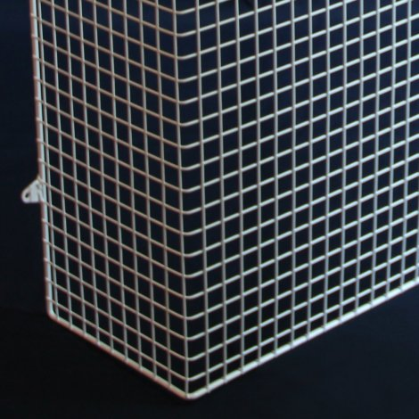 QM150-AIA heater guard – detailed view