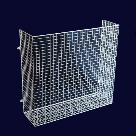 QM070-AIA heater guard – bottom view