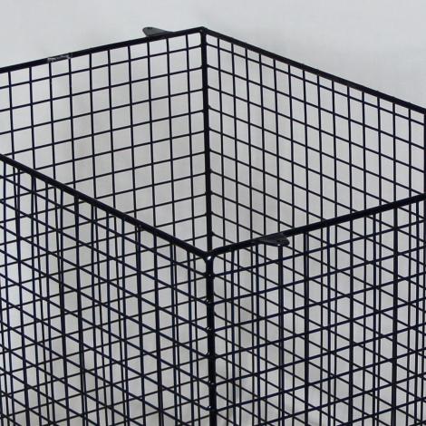 QXD1500-AIA-BLK quartz heater guard – detailed view