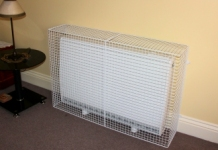 The world of wire mesh guards of MS Guardio also include radiator guards