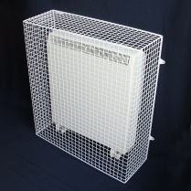 How to calculate radiator guard size correctly for a storage heater