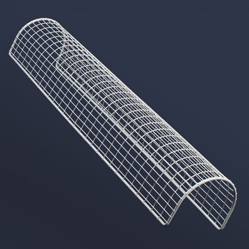 Aiano STG21 double tubular guard based on background