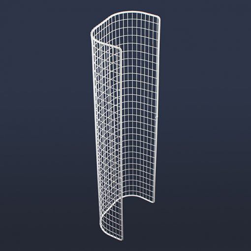 Aiano STG22 double tubular guard – back view