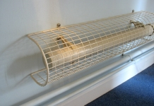 The world of wire mesh guards of MS Guardio also include tubular heater guards