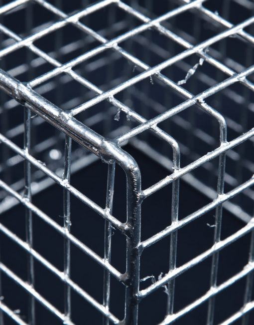 Aiano FLS/S small galvanised floodlight guard – detailed view