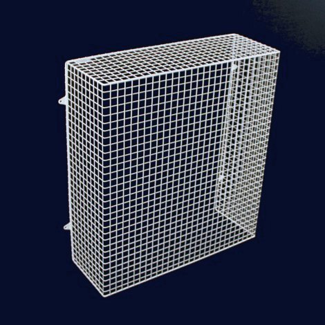 QM050-AIA heater guard –– floor standing